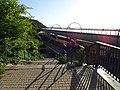 Žižkov, stezka Pod Krejcárkem - U Sluncové, železniční rozplet.jpg