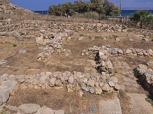 "Amnisos - The ""House of the Lilies""."
