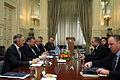 Συνάντηση Αντιπροέδρου της Κυβέρνησης και ΥΠΕΞ Ευ. Βενιζέλου με ΥΠΕΞ Ισραήλ A.Liberman (13286362943).jpg