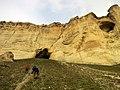 Ак Кая - Белая скала, подъём к Большому гроту.jpg