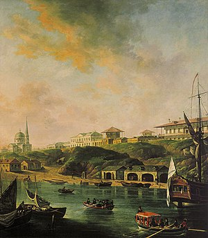 "Mykolaiv - ""View of the City of Nikolaev"", painting by Fedor Alexeev, 1799."