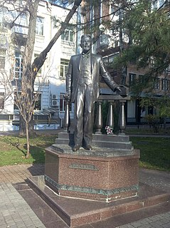 Chekhov Monument in Rostov-on-Don