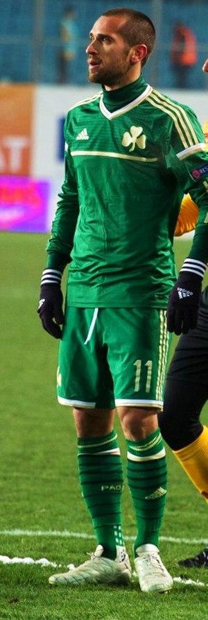 Emir Bajrami - Image: Динамо Панатинаикос (7)