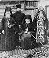 Епископ Иоанн (Киструсский), схимонах Василий, протоиерей Еремей, архимандрит Серафим.jpg