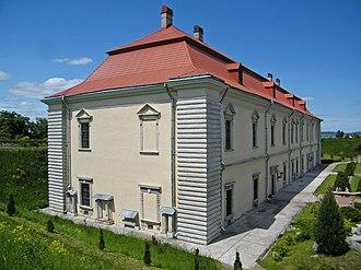 Zolochiv - Image: Золочевский замок. Большой дворец
