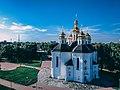 Катерининська церква з висоти літо.jpg