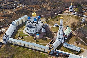 Ugresha Monastery - A bird's-eye view of St. Nicholas' Monastery