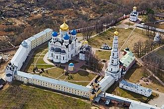 Ugresha Monastery - A bird's-eye view of St. Nicholas' Monastery