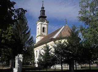 Voganj Village in Vojvodina, Serbia
