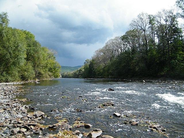 Река Павловка в Чугуевском районе