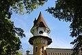 Садиба ватажка чернігівського дворянства Глібова, готична башта.jpg