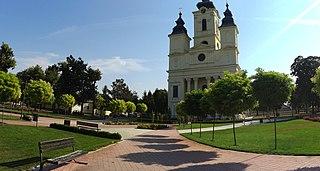 Čurug Village in Vojvodina, Serbia