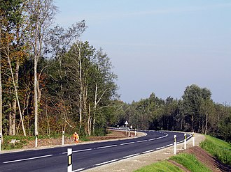 Aknīste Municipality - Road P73, NW of Aknīste
