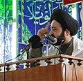 السيدعلي الطالقاني خطيباً للجمعة في محافظة بابل.jpg