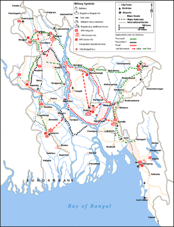 Military plans of the Bangladesh Liberation War