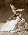 თამარი და დემონი (ცოცხალი სურათი), 1882 წ. მ. კაჩუხაშვილის და ა. მიხაილოვის ფოტო.jpg