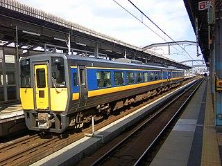 Super Matsukaze Japanese limited express train service