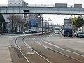 豊橋鉄道東田本線 東八町駅付近 From Higashi-hatchō staion, Toyotetsu Azumada line 2009.1.19 - Panoramio 56087842.jpg