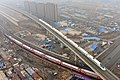 长吉城际铁路动车组^白城-长春k7302 单双混编高低高 - panoramio.jpg