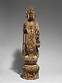 隋-唐 彩繪石雕觀音菩薩像(石灰岩)-Bodhisattva Avalokiteshvara (Guanyin) MET DP170108.jpg