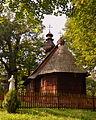 02014. Die Kirche Geburt Gottesmuter, 1743 erbaut, Łodzina.JPG