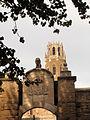 062 Lleida, porta del Lleó i campanar de la Seu Vella.jpg