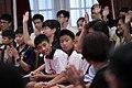 08.03 總統接見「中華民國第57屆全國中小學科學展覽會」各組(科)第一名學生,並向現場同學提問 (35509669954).jpg