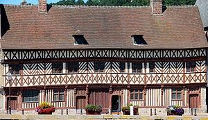 Saint-Valery-en-Caux - Image: 0 Saint Valery en Caux Maison dite de Henri IV