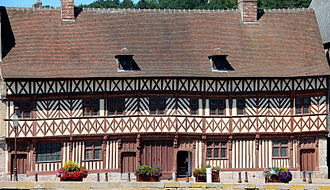 "Saint-Valery-en-Caux - The house called ""Henry IV"" (16th century)."