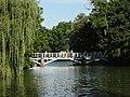 1. Дерев'яний міст на острів Анти-Цирцеї, (парк «Софіївка»), Умань.JPG
