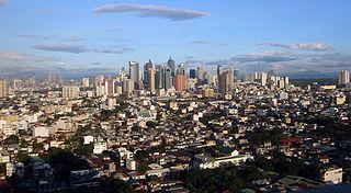 Makati Highly Urbanized City in National Capital Region, Philippines