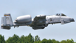 103d Fighter Squadron - Image: 103d Fighter Squadron Fairchild Republic A 10A Thunderbolt II 79 0219