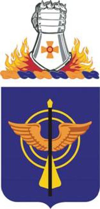 10th Aviation Regiment (United States) - coat of arms