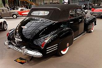 Cadillac Series 62 - 1941 Cadillac Series 62 4-door convertible