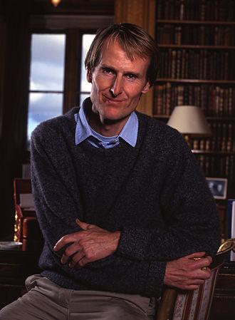 Ralph Percy, 12th Duke of Northumberland - Portrait by Allan Warren in 1997