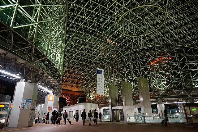Kanazawa station, Japan