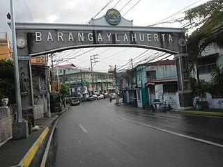 La Huerta, Parañaque Barangay in Metro Manila, Philippines