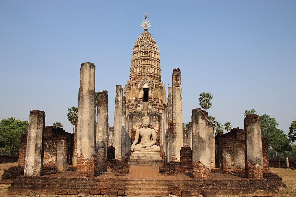 13th Century Thai City of Si Satchanalai- Wat Phra Si Rattana Mahathat- 1