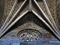 140 Iglesia de los Padres Franciscanos (Avilés), capella dels Àngels, rosassa i volta del sostre.jpg