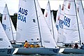 141100 - Sailing Australia 3 person keelboat action 11 - 3b - 2000 Sydney race photo.jpg