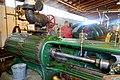 150 HP horizontal mill engine, Fitchburg Steam Engine Co., Fitchburg, MA, c. 1900 - Stationary steam engine collection - New England Wireless & Steam Museum - East Greenwich, RI - DSC06588.jpg