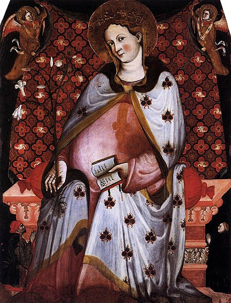 File:15th-century unknown painters - Madonna del Parto - WGA23928.jpg