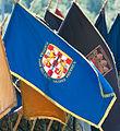 16 obljetnica vojnoredarstvene operacije Oluja 05082011 zastava postrojba ban Jelacic 255.jpg