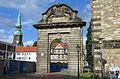 1714 Marstalltor am Hohen Ufer Roßmühle, Hannover, Kreuzkirche.JPG