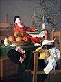 1840 Weihnachten Maedchen-Gabentisch anagoria.JPG