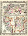 1860 Mitchell's Map of Peru, Ecuador, Venezuela, Columbia and Argentina - Geographicus - Peru-m-63.jpg