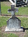 1864 headstone, Bethania Lutheran Cemetery, 2005.JPG