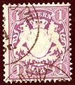 1875issue Bayern 1Mk Mi31.jpg
