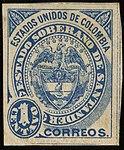 1884 1c EU de Colombia Santander unused Mi1.jpg