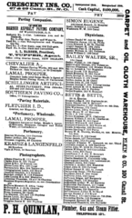 1887 photographers New Orleans city directory.png